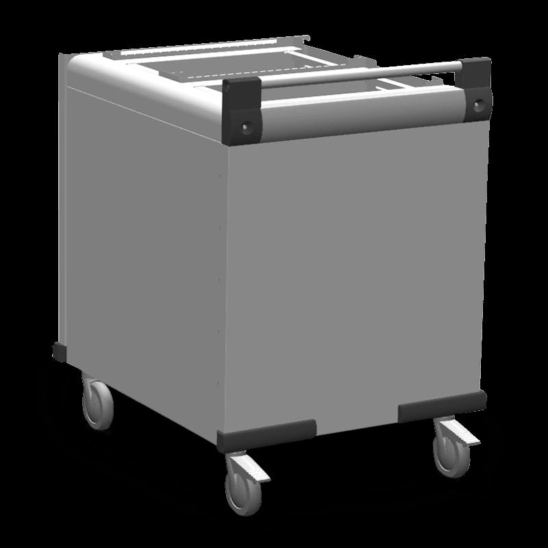 DFR 2 X 530/325 – Dienbladenstapelaar
