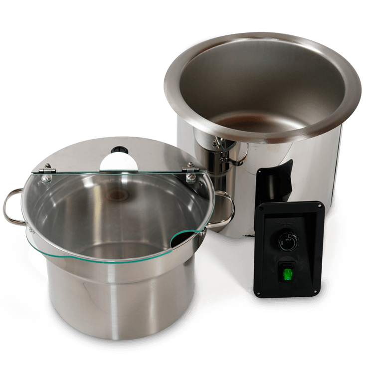 Soup Well – Met Siliconemat Verwarming – Incl. Binnenpan En Scharnierdeksel